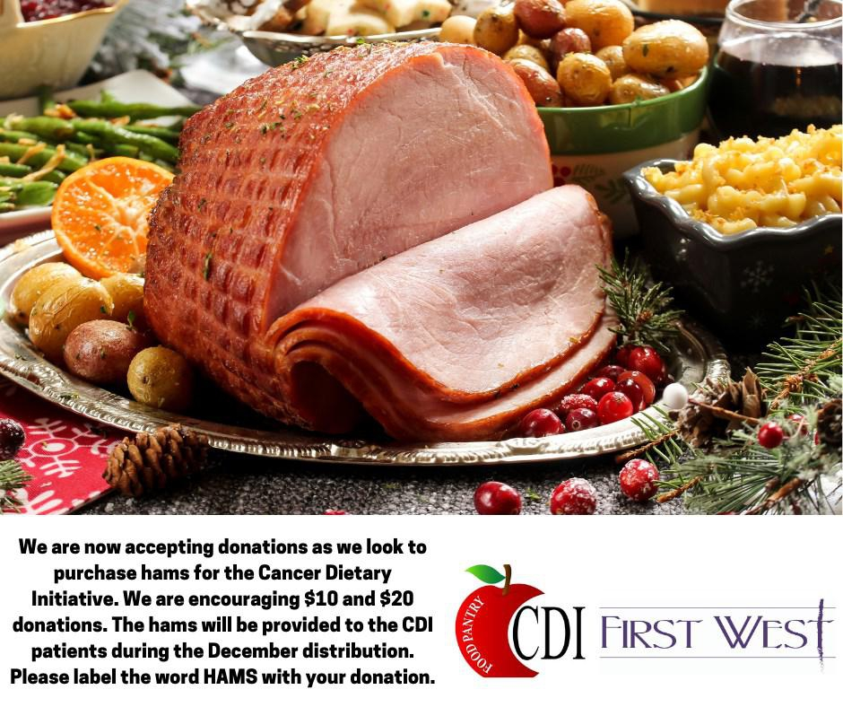 Photo of  CDI Christmas Hams